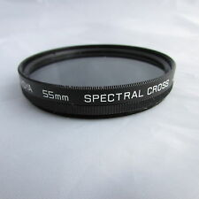 Hoya 55mm Spectral Cross Filter (F115)
