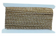 9 mtr lace border trim, tassle style, pearl on gold embroidery, 1.5cm wide