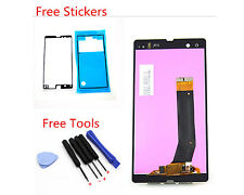 LCD Display Touch Screen Digitizer For Sony Xperia z L36h C6603 C6602 Black Tool