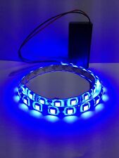 Super Bright Blue Led Light, 9V Battery Operated 500mm Waterproof Strip.