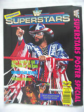 WWE / WWF SUPERSTARS POSTER SPECIAL / VOL 4 NO 10 / SHAWN MICHAELS POSTER