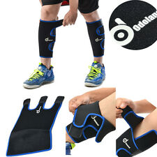 Medical Sports Calf Brace Support Shin Sleeve Leg COMPRESSION Sock Running 1Pair
