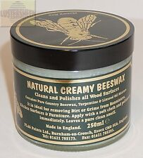 Classic Natural Creamy Beeswax in Clear 250 ml / 8 FL OZ