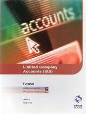 Las cuentas de sociedad limitada (IAS) tutorial por Derek Street, David Cox, Douglas meik