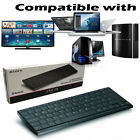 Official Sony Wireless Slim QWERTY Bluetooth Keyboard for PS2/3/4 & MAC/PC TV`s