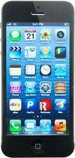 NEW SPRINT BLACK AND SLATE 64GB APPLE IPHONE 5 IOS TOUCHSCREEN PHONE P843