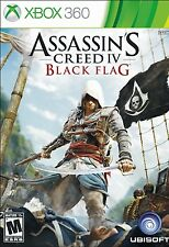 NEW Assassin's Creed IV 4: Black Flag  (Xbox 360, 2013)