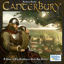 Canterbury Board Game - Contribute to the Building of the Town and Score Big
