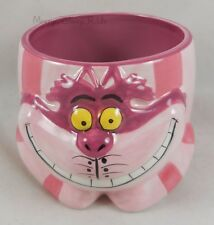New Disney Alice In Wonderland Cheshire Cat 3D Sculpted Ceramic Coffee Mug Cup