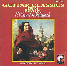 Marcelo Kayath : Guitar Classics From Spain CD (1995) VGC