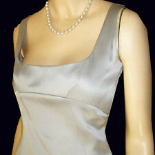 NEW $301 TAHARI Prom Dress Gown TOTALLY REGAL LINES 6 Pale Blue SILK Bridesmaid