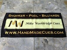 MIKE WOOLDRIDGE CUE TOWELS DISCONTINUED STOCK