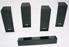 SONY Surround Sound SS-TSB101 Satellite SS-CTB101 Center Channel / 5 Speaker Set