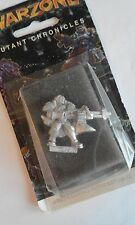 WARZONE-MUTANT CHRONICLES-BAUHAUS-HUSSAR KAPITAN #2-METAL FIGURE-TARGET GAMES