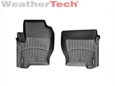 WeatherTech® FloorLiner for Range Rover Sport - 2008-2013 - 1st Row - Black