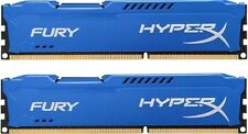 HyperX FURY Blue 16GB 2X8GB Dual Channel DDR3 1866MHz PC3-15000 DIMM Desktop