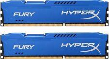 HyperX FURY Blue 16GB 2X8GB Dual Channel DDR3 1866MHz PC3-15000 DIMM Desktop