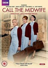 CALL THE MIDWIFE SERIES 4 +CHRISTMAS SPECIAL    NEW SEALED GENUINE UK DVD BOXSET