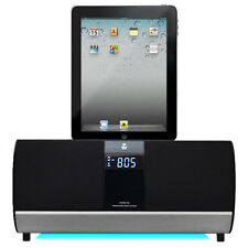 Pyle FM Receiver Radio With IPod/iPad/iPhone Docking Station And Alarm Clock