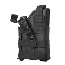 Black Tactical MOLLE Holster Fits S&W 4006 4506 CZ75 FN FNS FNX 9 40 45 Pistols