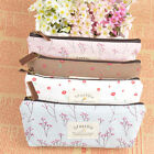 Hot Sell Flower Floral Pencil Pen Case Cosmetic Makeup Bag Storage Pouch Purse