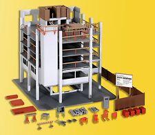 kibri 38537 Spur H0 Gebäude-Rohbau mit Baustellenzubehör #NEU in OVP#