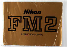 Original Nikon FM2  Instruction Manual - 50 pages, printed April 1982