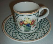 Villeroy & and Boch BASKET coffee cup and saucer