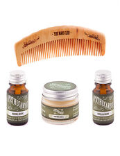 Apothecary 87 Original Vanillia & MANgo Beard Oil Moustache Wax Comb Gift Set