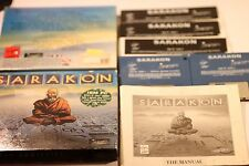 Rare IBM pc 5.25 3.5 disc 'sarakon-par jeux VIRGIN 1991