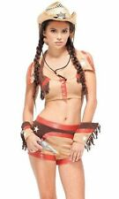 NEW! ROUND EM' UP S/M Sexy Forplay Women's Cowboy Cowgirl Western Costume