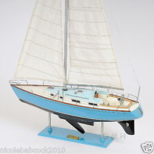 "45.8"" High Bristol Classic Collectible Boat Yacht Wooden Sail Ship Model"