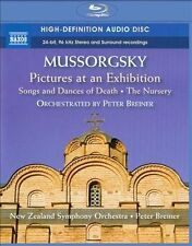 Mussorgsky: The Nursery; Pictures at an Exhibition; Songs & Dances Of Death Blu