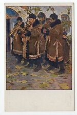 RUSSIE Russia Théme Types russes costumes personnages hommes musiciens