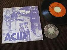 "7"" Midnight Queen Acid Six to Seven 1973 AUSTRIA | VG+"