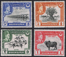 Bahawalpur Mint Stamps 1949 Silver Jubilee of Accesion SG39 to SG42