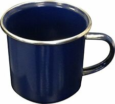 ENAMEL MUG FOR HOME CAMPING & TRAVEL TEA COFFEE CUP