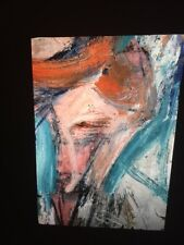 """William De Kooning """"Two Women, Detail"""" Abstract Expressionist 35mm Art Slide"""