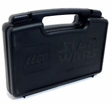 LEGO Black Plastic Storage/Carry Case LEGO & Star Wars Logos from set 7153 NEW