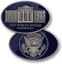 NEW The White House Oval Shape Presidential Seal Challenge Coin. 60793.