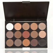 Professional 15 Colors Warm Nude Matte Shimmer Eyeshadow Palette Makeup  BE