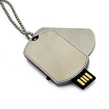 Metal Name Tag Pendant Shaped 8 GB  Fancy Cool Cute Stylish USB Pen Drive