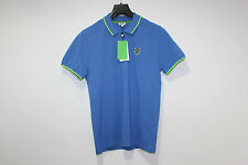 KENZO PARIS POLO BLUE GREEN T SHIRT XL