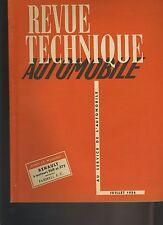 (C3A)REVUE TECHNIQUE AUTO RENAULT à moteurs 568 et 572 / TRACTEUR FARMALL F.C