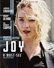 Joy (Blu-ray Disc, 2016) Like New Release Movies for a Penny! FREE SHIPPING!