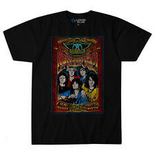 Aerosmith-Let Rock Rule-In Concert-X-Large Black T-shirt