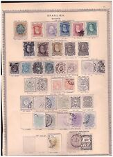 Brazil unchecked page from ancient collection (2)