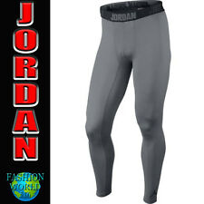 MEN'S XL JORDAN ALL SEASON DRI-FIT MENS COMPRESSION TIGHTS  642348 GREY