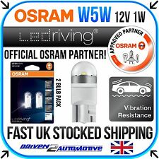 2x OSRAM LED W5W T10 501 LED SIDE LIGHT / INTERIOR / NUMBER PLATE BULB
