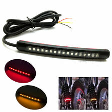 Bendable 17 LED Strip Tail Light Turn Signal Indicator 2835 SMD Motorcycle